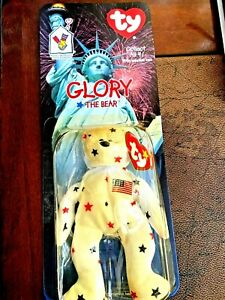 RARE LIMITED EDITION TY MINI BEANIE BABY GLORY WITH ERROR