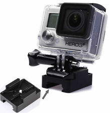 Metal Aluminum Mini Gun Rail Mount Airsoft BB Guns for GoPro HERO 2 3 3+4 Camera