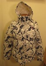 NEW NIKE ACG Womens Hooded Hoodie White Goose Down Jacket Coat M Medium NWT $250