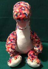 Build-A-Bear Multicolor Diplodocus T-Rex Dinosaur Plush Animal (Read) Lot #2