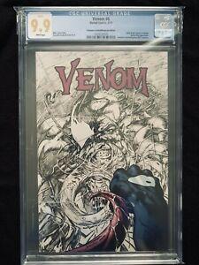 VENOM #6 CGC 9.9! Scorpion Comics/MegaCon 2017 Partial Sketch Variant