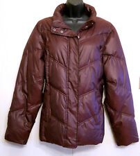 GAP Deep Purple Puffer Jacket size est LARGE Quilted Polyurethane Winter Coat