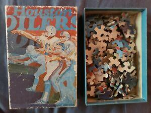 1971 HOUSTON OILERS puzzle Vintage Football