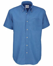 Oxford Fitted Collared Casual Shirts & Tops for Men