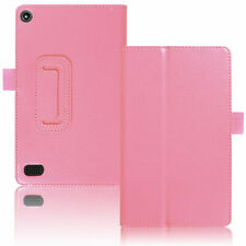 For Amazon Kindle Fire 7 Tablet Case Leather Smart Cover