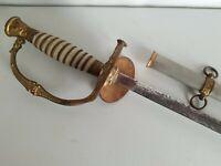 Horstmann Model 1860 Staff & Field Sword w/Scabbard - Fraternal or Militia