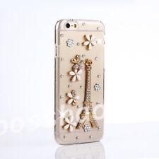 Glitter Luxury Bling Gems Diamonds PC Hard Shell back phone Case Cover Skin #a