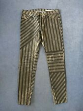 Sass and Bide Stripy Blue and Gold Jeans Pants Freetown size 30