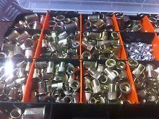 RIVNUT NUTSERTS  STEEL BULK PACK 600 METRIC 300 IMP 900 PIECES !!!!!