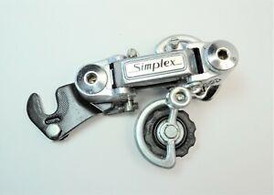 VINTAGE SIMPLEX SX BICYCLE HANGER TYPE BTE SHORT CAGE REAR DERAILLEUR
