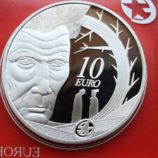 "Ireland-Irland: 10 Euro 2006, Proof-PP, KM# 45, ""Samuel Beckett"", #F 0635, E-S"