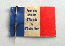 Epinglette fondation maréchal De Lattre, pour nos soldats d'Algérie et outre mer
