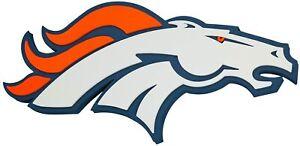 Denver Broncos 3D Foam Wall Sign NFL Football Fan Team Pride FanFoam by Foamhead
