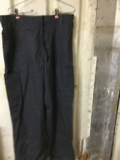Carhartt Men's Ripstop Multi-Cargo Scrub Pant, Dark Gray, Medium Long