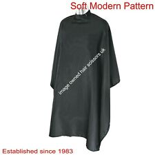Hairdressing CAPE Black ULTRA LIGHTWEIGHT DMI Diamond No Sleeves Adjustable Neck