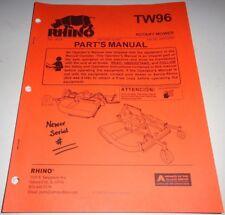 Rhino Heavy Equipment Manuals & Books for sale | eBay