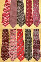 Lot of Ten Robert Talbott and Best of Class Ties