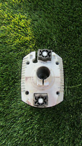 Genuine Stihl FS450 cluch with clutch bell,,clutch housing, bearing & AV rubbers