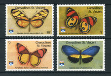 1992 - GRENADINES ST.VINCENT - LOTTO/20215 - FARFALLE 4v. - NUOVI