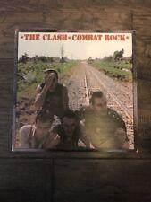 """*The Clash*Combat Rock* Album 1982 12"""" LP  Epic Vinyl RARE"""
