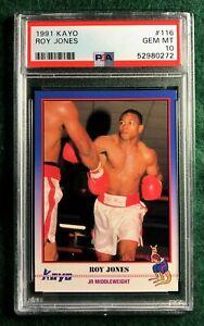 1991 Kayo Boxing #116 Roy Jones Jr Rookie RC - PSA 10 GEM MINT Low Pop!