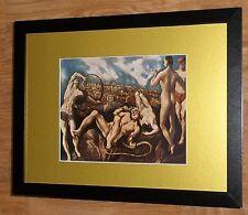"Incorniciato 12"" x16"", El Greco, Laocoon, i comandanti dipinti, BIBBIA DIPINTI"