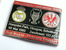 REAL MADRID - EINTRACHT FRANKFURT - Pin.
