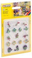 14050 Noch HO, Blumengarten 17 Pflanzen, Laser-Cut minis, Modelleisenbahn, Hobby