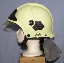 Feuerwehrhelm - Gallet Helm F1 - MSA - Goldvisier