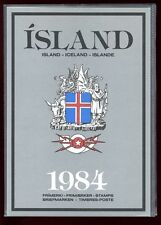 Iceland 1984 Official Year Pack Complete as Issued
