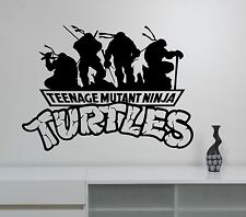 Ninja Turtles Wall Decal Superhero Sticker Vinyl Art Kids Boys Room Decor nts6