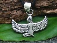 Isis Anhänger Kette 925 Silber Göttin Ägypten Osiris Horus Anubis