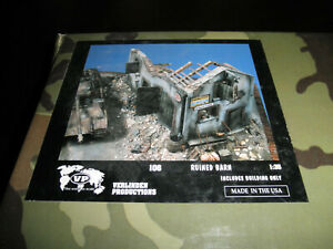 1/35 Ruined BARN Resin kit by Verlinden Productions