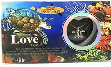 1 TURTLE Love Wish Pearl Necklace Set Oyster Clam Pendant Valentine Girlfriend