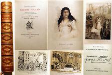 REVOLUTION FRANCAISE/ Mme ROLAND/SA DETENTION ../ED HURTREL/1886/EO/EX SUR JAPON