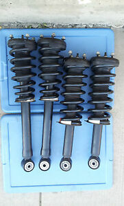 2000 2001 2002 LINCOLN LS SET 4PC  FRONT &  REAR STRUTS SHOCKS