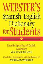Webster's Spanish-English Dictionary for Students (Spanish and English Edition)