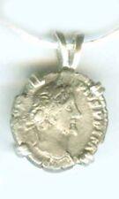 Silver Roman Emperor Antoninus Pius Goddess Pax Peace
