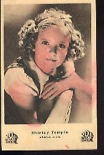 SHIRLEY TEMPLE Child Star 1930s vintage CZECH cp carte postale postcard