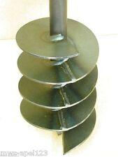 Bohrkopf 150 mm Hand Erdbohrer Erdlochbohrer Brunnenbohrer Erdbohrgerät