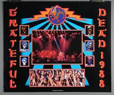 Grateful Dead, John Werner, Year of Dragon Poster 1988
