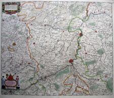 1680 LIEGE MAASTRICHT Netherlands* DeWIT 46x54cm ORIG