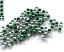 ROUND Smooth Nailheads 2mm Hot Fix KIWI GREEN 144 PC  1 gross