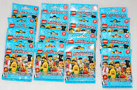 Sealed Collectible Minifigures Complete Set Lego Series 17 71018 Mystery Figure