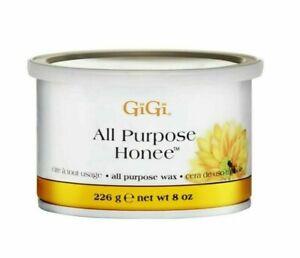 Gigi All Purpose Honee Hair Removal Wax For All Skin Types 8 Oz