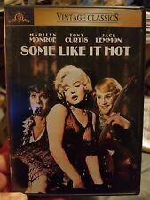 Some Like It Hot Dvd Marilyn Monroe Tony Curtis Jack Lemon Near mint