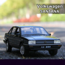 Welly 1:18 Scale Black Volkswagen SANTANA Diecast Model Cars Toys Unopened Box
