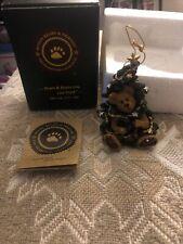 Boyds Bears Bearstone Frasier 83007 Ornament Christmas Tree