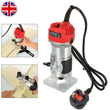 800W Electric Hand Trimmer Palm Router Laminate Wood Laminator Sanding Saw Tool