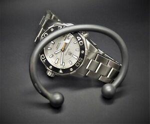 "Men's Heavy Solid 925 Sterling Silver ""Oxidised Silver"" Torque Bangle Bracelet"